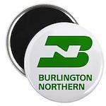 Burlington Northern Round Magnet (100 pack)