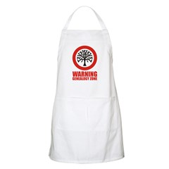 Genealogy Zone BBQ Apron