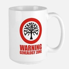 Genealogy Zone Large Mug