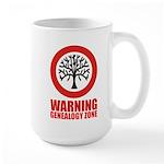 Genealogy Zone Large Mug