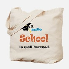 A Safe School Tote Bag