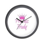Princess Trudy Wall Clock