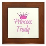 Princess Trudy Framed Tile