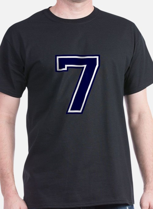 NUMBER 7 FRONT T-Shirt