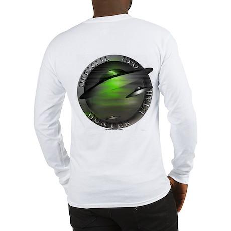 Official UFO Hunter Long Sleeve T-Shirt