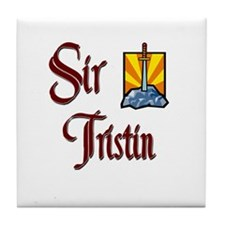 Sir Tristin Tile Coaster
