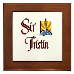 Sir Tristin Framed Tile