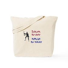 Logan - Ninja by Night Tote Bag
