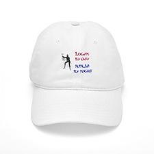 Logan - Ninja by Night Baseball Cap