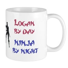 Logan - Ninja by Night Mug