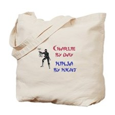 Charlie - Ninja by Night Tote Bag