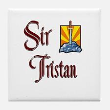 Sir Tristan Tile Coaster