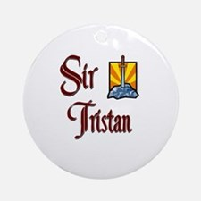 Sir Tristan Ornament (Round)
