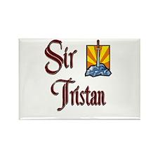 Sir Tristan Rectangle Magnet
