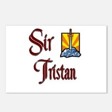 Sir Tristan Postcards (Package of 8)
