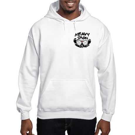 Heavy Iron Bench Press Hooded Sweatshirt