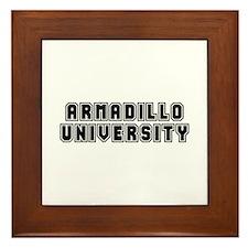 University Framed Tile