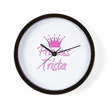 Princess Trista Wall Clock