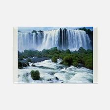 Scenic High Falls Wawa Canada Rectangle Magnet