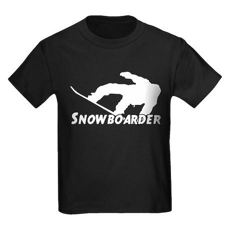 Snowboarder Kids Dark T-Shirt