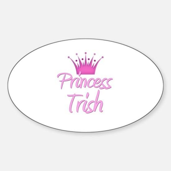 Princess Trish Oval Decal