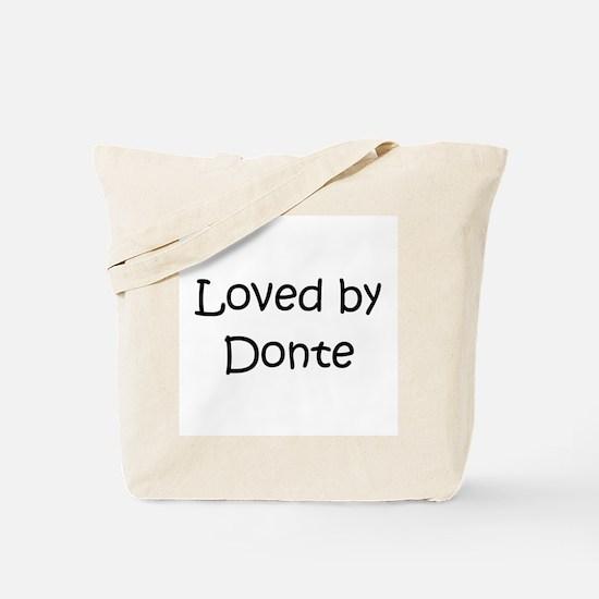 Cute Donte Tote Bag