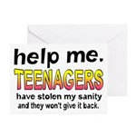 Stolen Sanity Greeting Cards (Pk of 10)