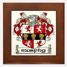 Murphy Coat of Arms Framed Tile