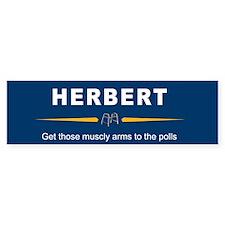 Herbert Bumper Bumper Sticker