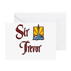Sir Trevor Greeting Cards (Pk of 10)