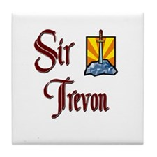 Sir Trevon Tile Coaster