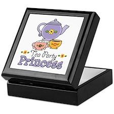 Tea Party Princess Keepsake Box