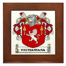 McNamara Coat of Arms Framed Tile