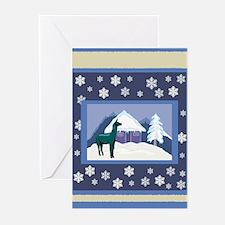 Snowflake Alpaca Greeting Cards (Pk of 10)