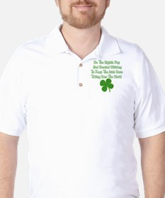 Irish Whiskey Golf Shirt
