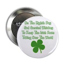 "Irish Whiskey 2.25"" Button"