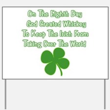 Irish Whiskey Yard Sign