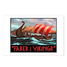 FARER I VIKINGR Postcards (Package of 8)