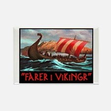 FARER I VIKINGR Rectangle Magnet