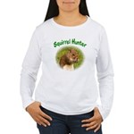 Squirrel Hunter Women's Long Sleeve T-Shirt