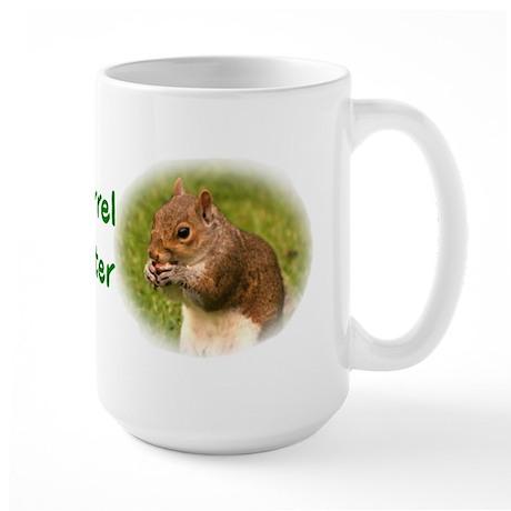 Squirrel Hunter Large Mug