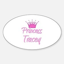 Princess Tracey Oval Decal