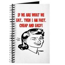 IF WE ARE WHAT WE EAT Journal
