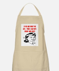 IF WE ARE WHAT WE EAT Apron