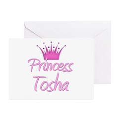 Princess Tosha Greeting Cards (Pk of 10)