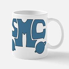 Blue SMC Van Logo Mug