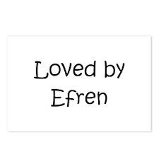Cute Efren Postcards (Package of 8)