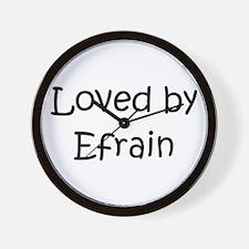 Cool Efrain Wall Clock