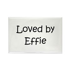 Cute Effie Rectangle Magnet (100 pack)