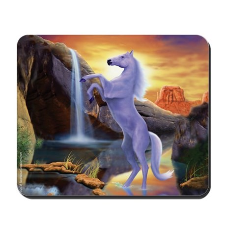 Desert Dream Wild Horse Mousepad
